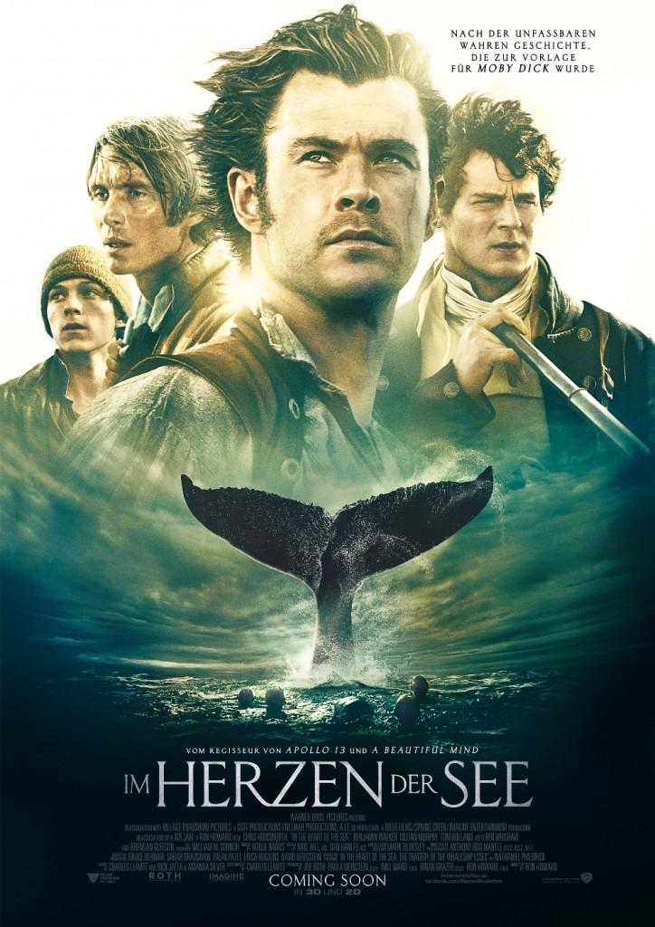 Im Herzen der See. (c) 2015 Warner Bros. Ent. Alle Rechte vorbehalten.
