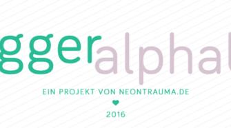 Blogger-Alphabet 2016 von neontrauma.de