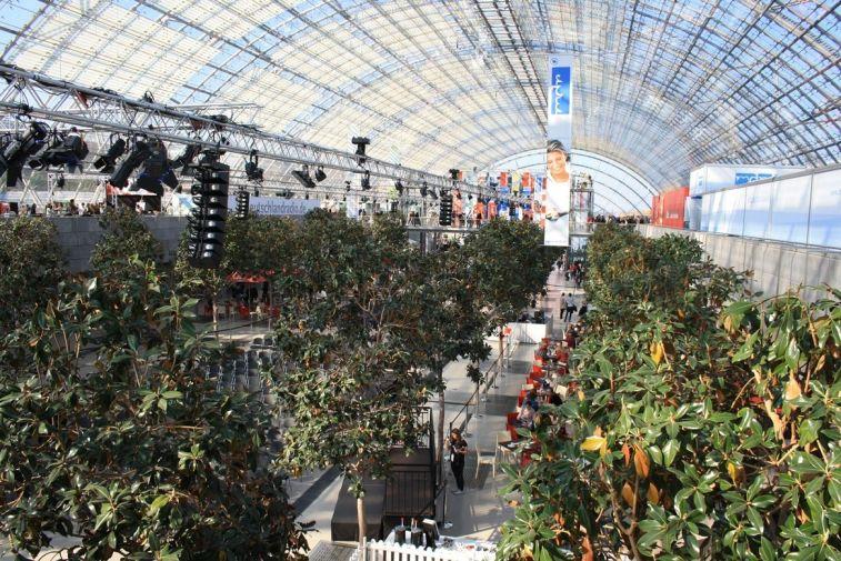 Die Messehalle der Leipziger Messe ist immer wieder ein fabelhafter Anblick