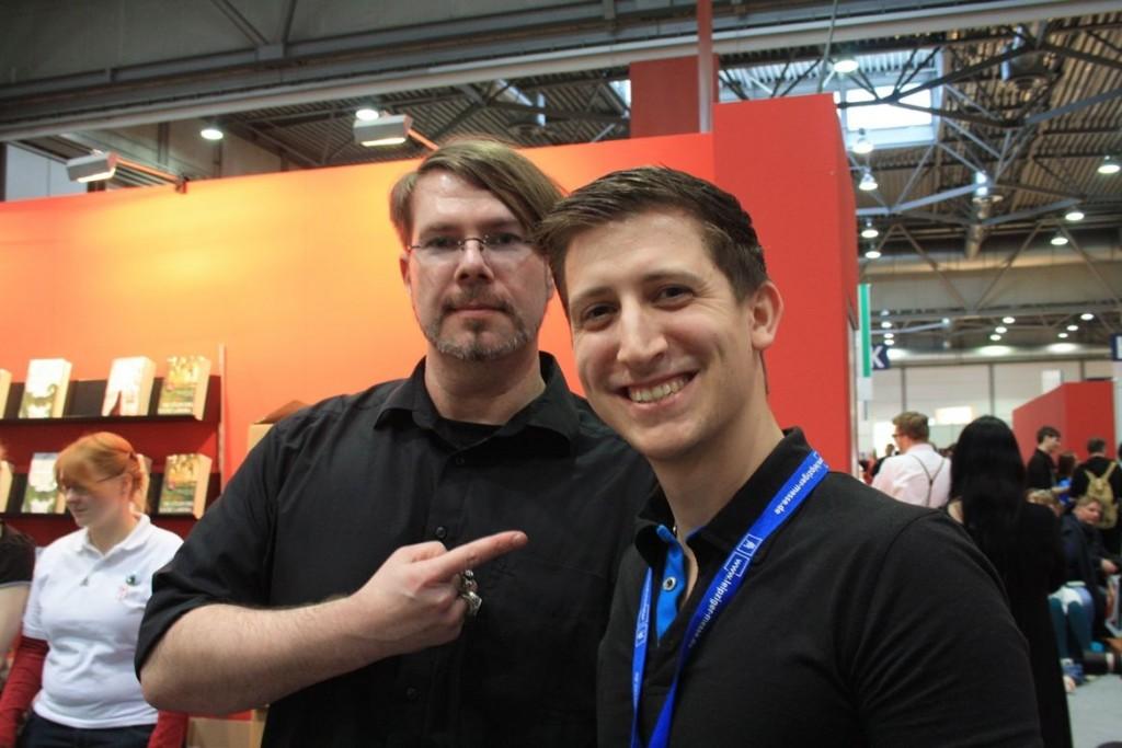Markus Heitz und ich
