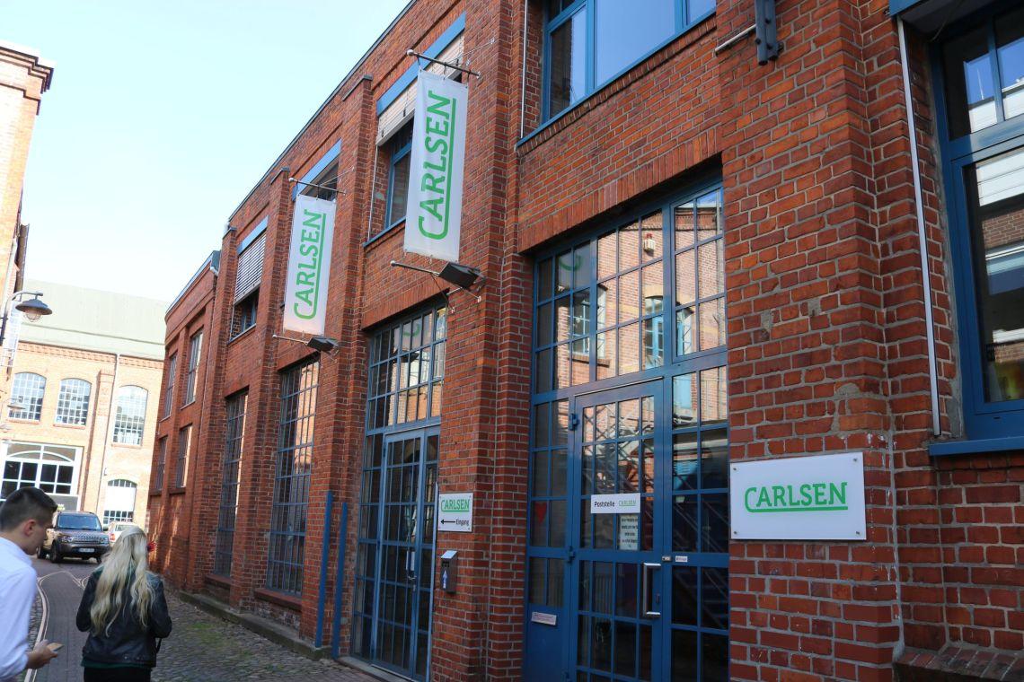 Der Carlsen Verlag in Hamburg