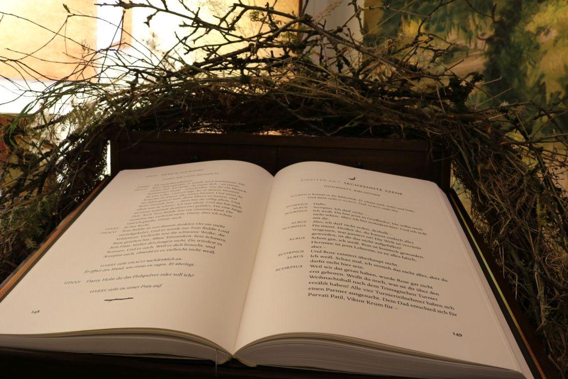 Die XXL Ausgabe von Harry Potter und das verwunschene Kind vom Carlsen Verlag