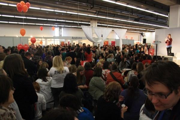 Das mächtig überfüllte LovelyBooks.de Communitytreffen