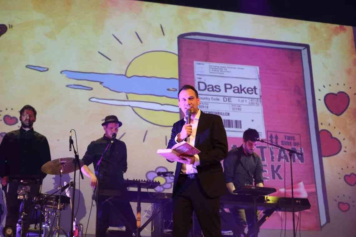 Sebastian Fitzek auf Jubiläumstour in Köln