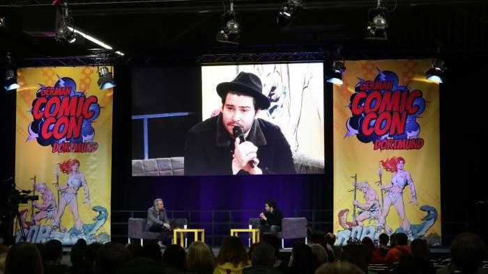 Daniel Portman (bekannt aus Game of Thrones) auf der german Comic Con Dortmund 2016