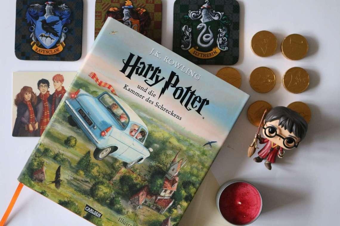 Harry Potter und die Kammer des Schreckens (illustrierte Schmuckausgabe)