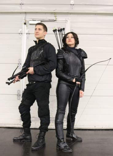 The Hunger Games Cosplay auf der German Comic Con 2016 in Dortmund