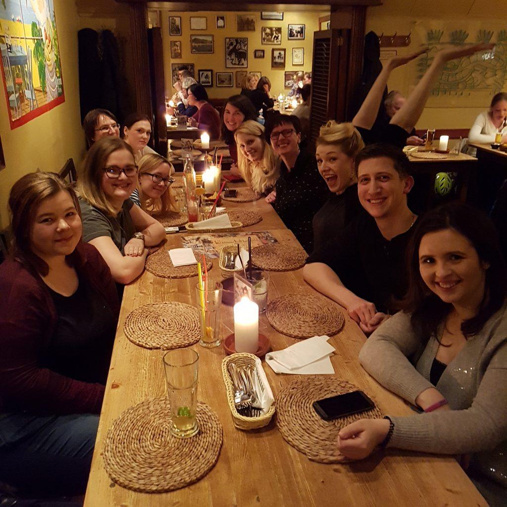 Buchbloggerstammtisch NRW im Januar 2017