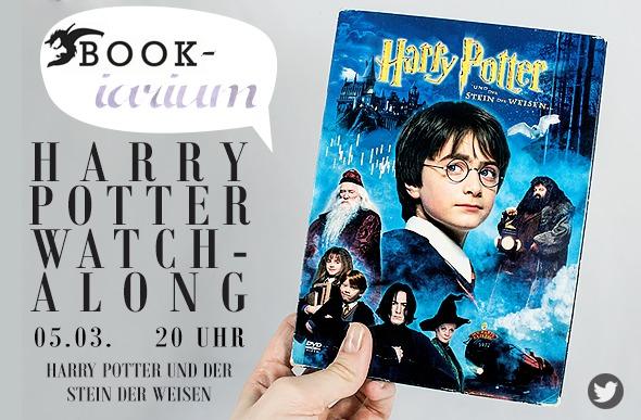 bookiarium Watch-Alongs // Harry Potter und der Stein der Weisen