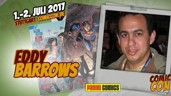 Comic Con Germay | Artist | Eddy Barrows