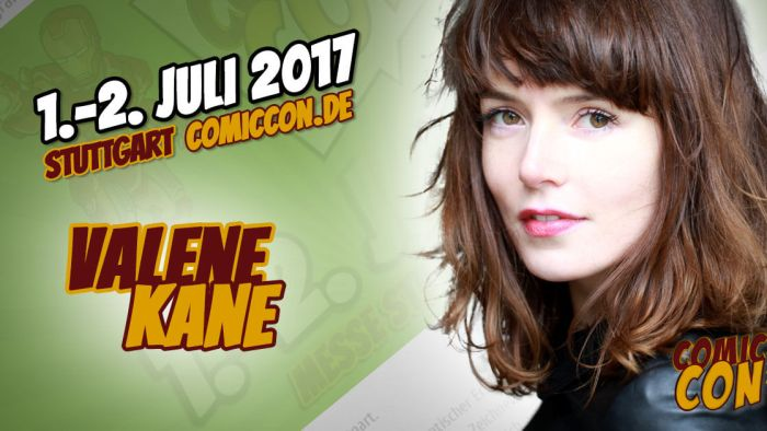 Comic Con Germay | Starguest | Valene Kane