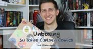 Unboxing // 50 Jahre Carlsen Comics (+ Gewinnspiel)