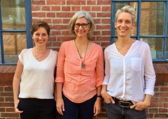 Das Carlsen-Messeteam, zuständig für Autoren, Veranstaltungen, Blogger und Messeorganisation (c) Carlsen Verlag