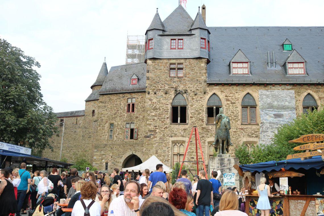 Medieval Fantasy Convention 2017 auf Schloss Burg