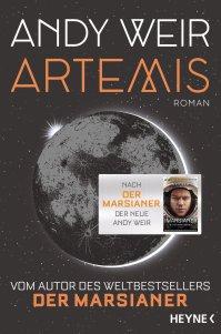 Artemis von Andy Weir. (c) Heyne Verlag