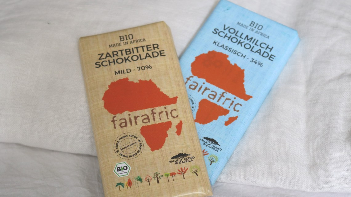 fairafric - Fairtrade Bio-Schokolade made in Africa