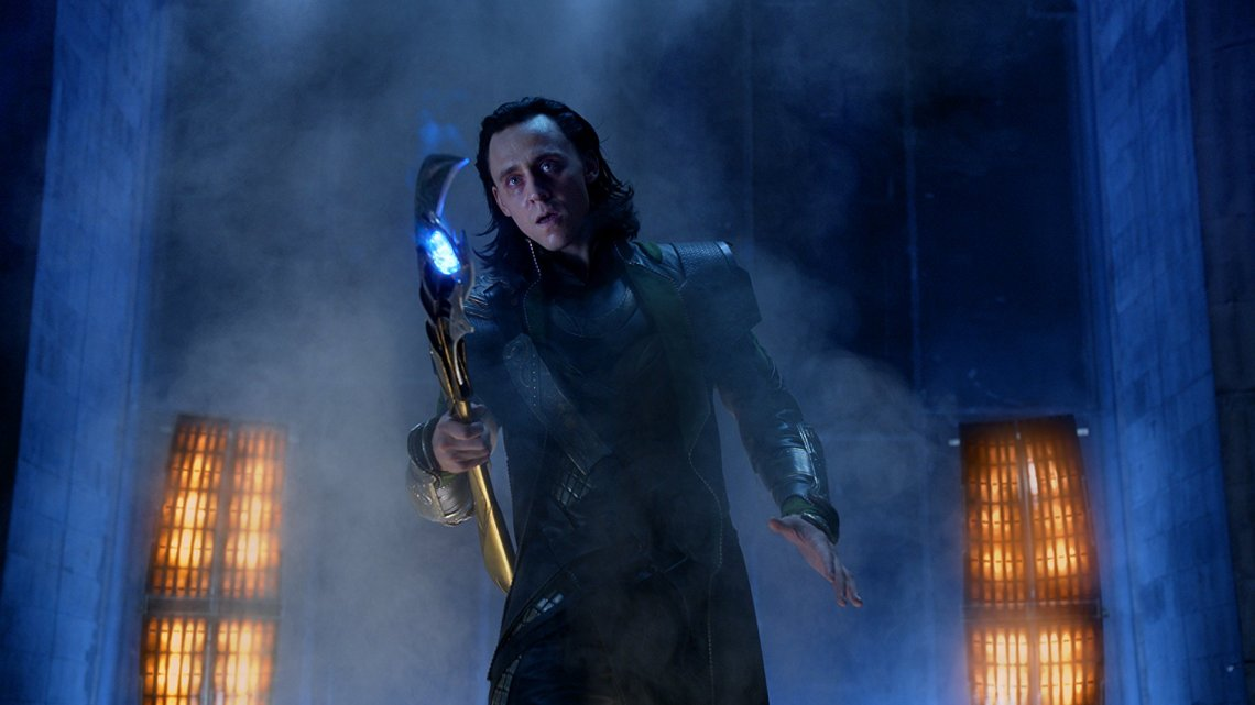 Tom Hiddleston in The Avengers (2012) © 2011 Marvel