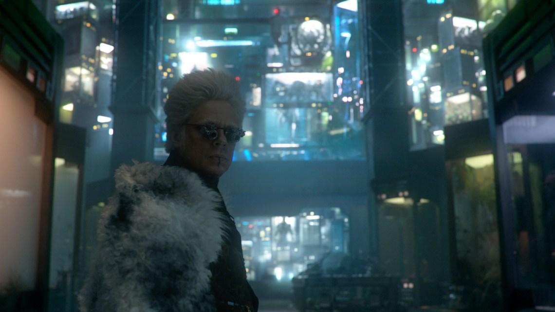 Marvel's Guardians Of The Galaxy..The Collector/Tanaleer Tivan (Benicio Del Toro)..Ph: Film Frame..©Marvel 2014