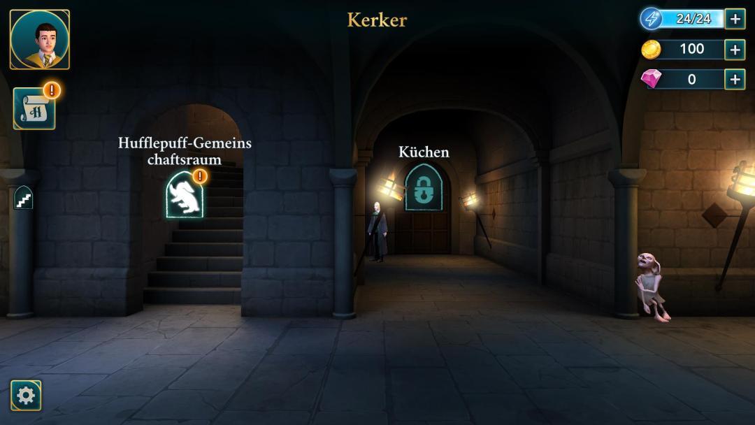 Ingame Screenshot Hogwarts Mystery