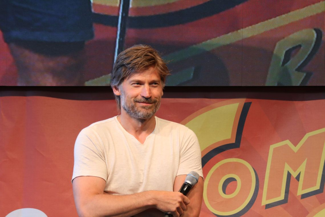 Nikolaj Coster-Waldau auf der comic con Germany 2018