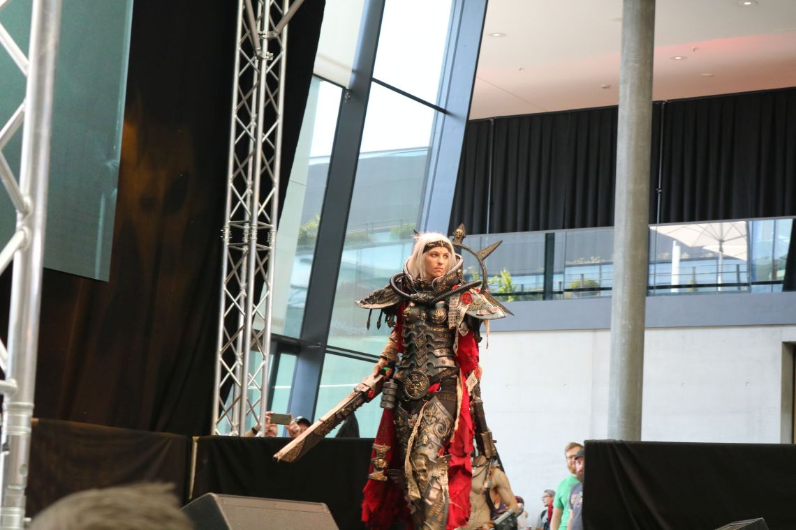 Cosplay Contest auf der comic con Germany 2018