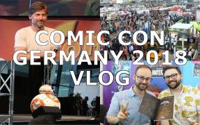COMIC CON GERMANY 2018 VLOG