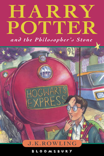 Harry Potter and the Philosopher's Stone (1997). (c) Bloomsbury