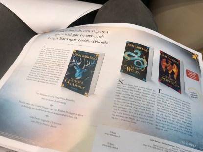 Grischa Neuauflage von Leigh Bardugo im Knaur Verlag