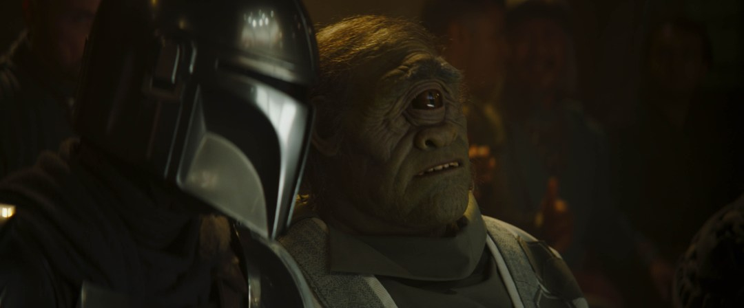 An alien in THE MANDALORIAN, season two. © 2020 Lucasfilm Ltd. & TM. All Rights Reserved.