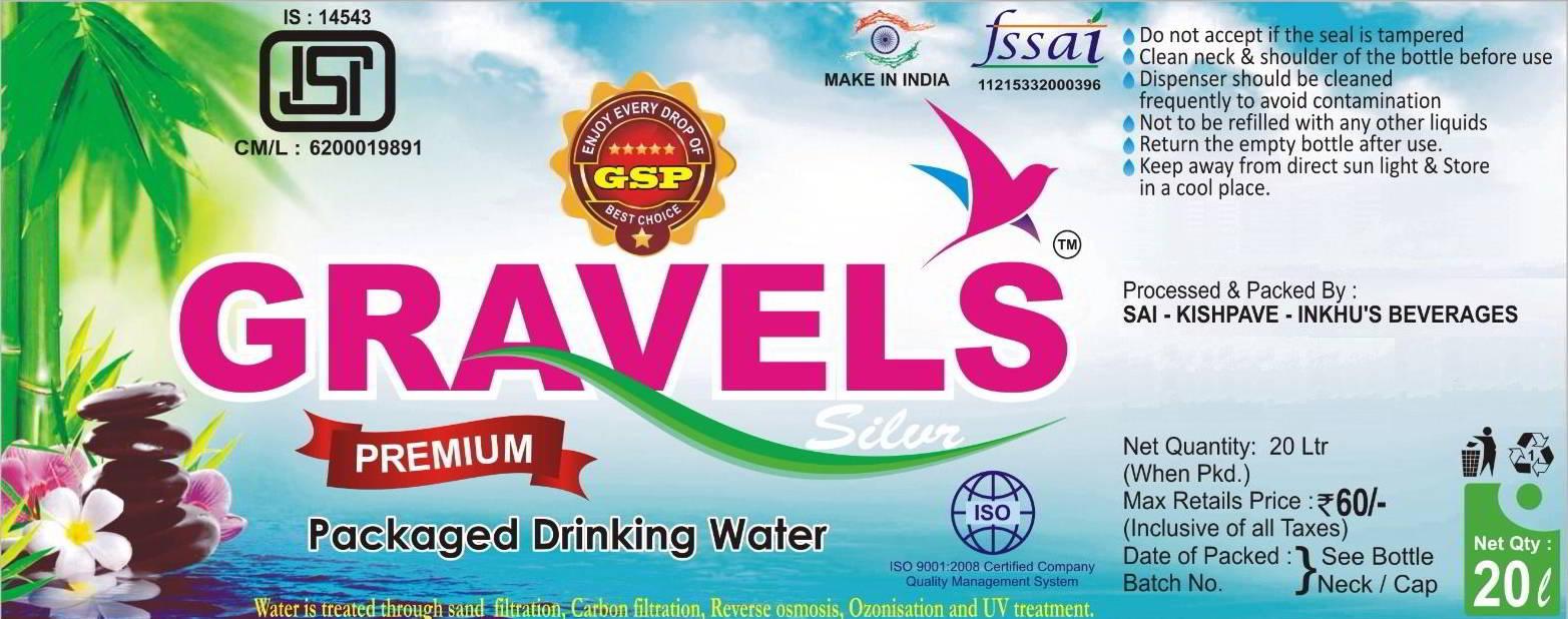 Gravels Premium Packaged Drinking Water