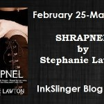 Shrapnel by Stephanie Lawton Tour