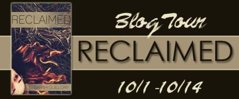 Reclaimed Blog Tour