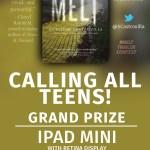 Melt Book Trailer Contest