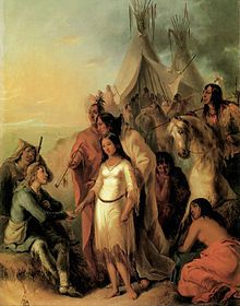 French Canadian Fur trappers often took native brides