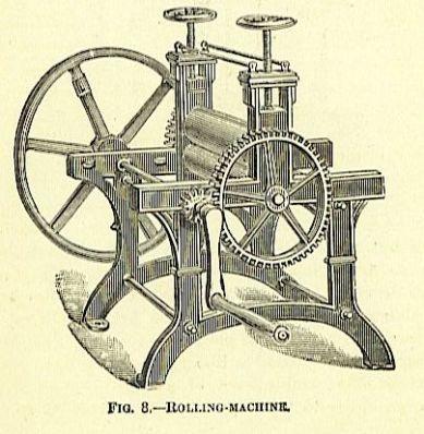 machine for pessing signatures
