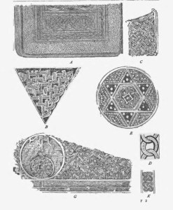 Celtic designs for bookbing