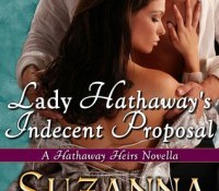 Guest Review:  Lady Hathaway's Indecent Proposal by Suzanna Medeiros