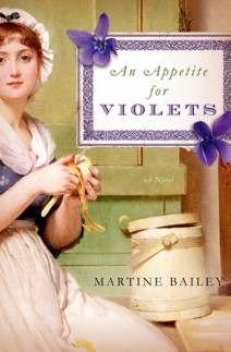 Guest Review: An Appetite for Violets by Martine Bailey