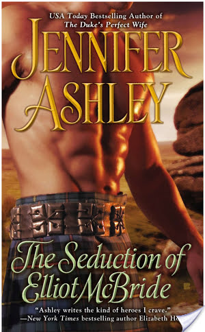Lightning Review: The Seduction of Elliot McBride by Jennifer Ashley