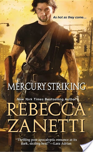 Guest Review: Mercury Striking by Rebecca Zanetti