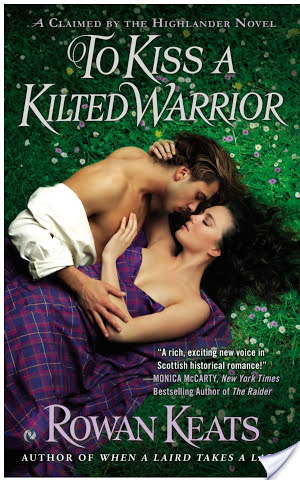 Guest Review: To Kiss a Kilted Warrior by Rowan Keats