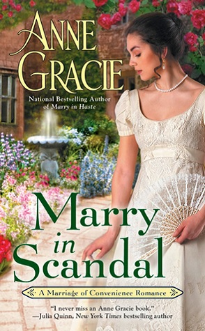 Guest Review: Marry in Scandal by Anne Gracie