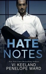 Hate Notes by Vi Keeland and Penelope Ward Book Cover