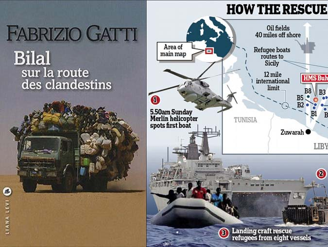Review | BILAL: On the Road with Illegal Immigrants, Fabrizio Gatti | Editions Liana Levi