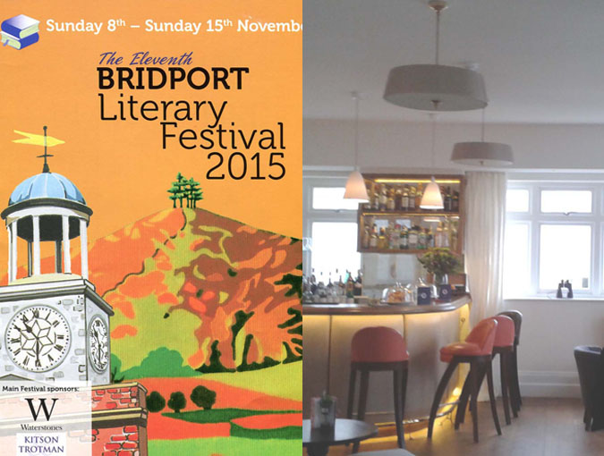 Spotlight | Georgia de Chamberet at the 2015 Bridport Literary Festival