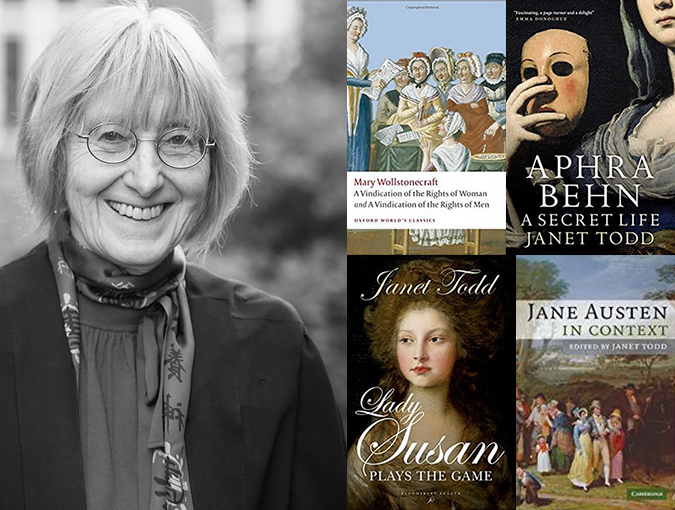 Interview   Janet Todd   Author of the Week