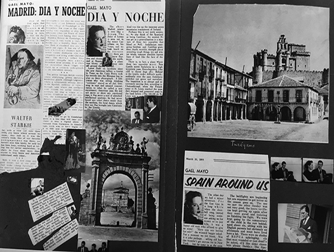 BookBlast® Archive | Gael Elton Mayo, Spain Around Us | Spanish-American Courier, April 1954