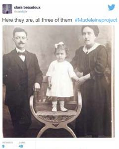 madeleine and her parents clara beaudoux