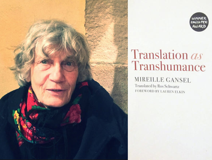 Review | Translation as Transhumance, Mireille Gansel | Book of the Week