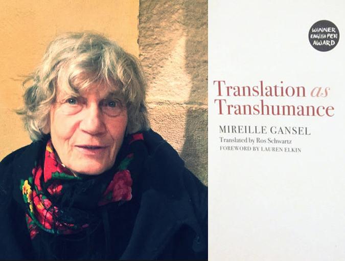 Review | Translation as Transhumance, Mireille Gansel | Book of the Week